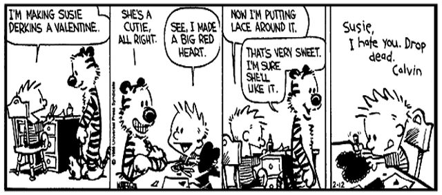 Calvin knows how to woo the ladies