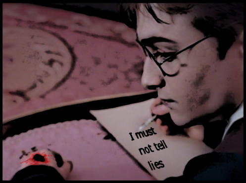 Harry Potter is familiar with painful paperwork.