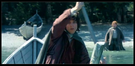Sometimes I think that TTT and ROTK would have been better if Frodo had succeeded in ditching Sam.