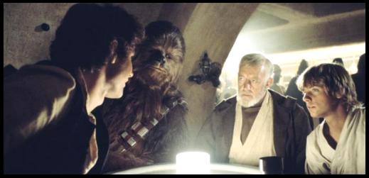 Even Jedi go out.