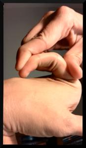 My actual hands.